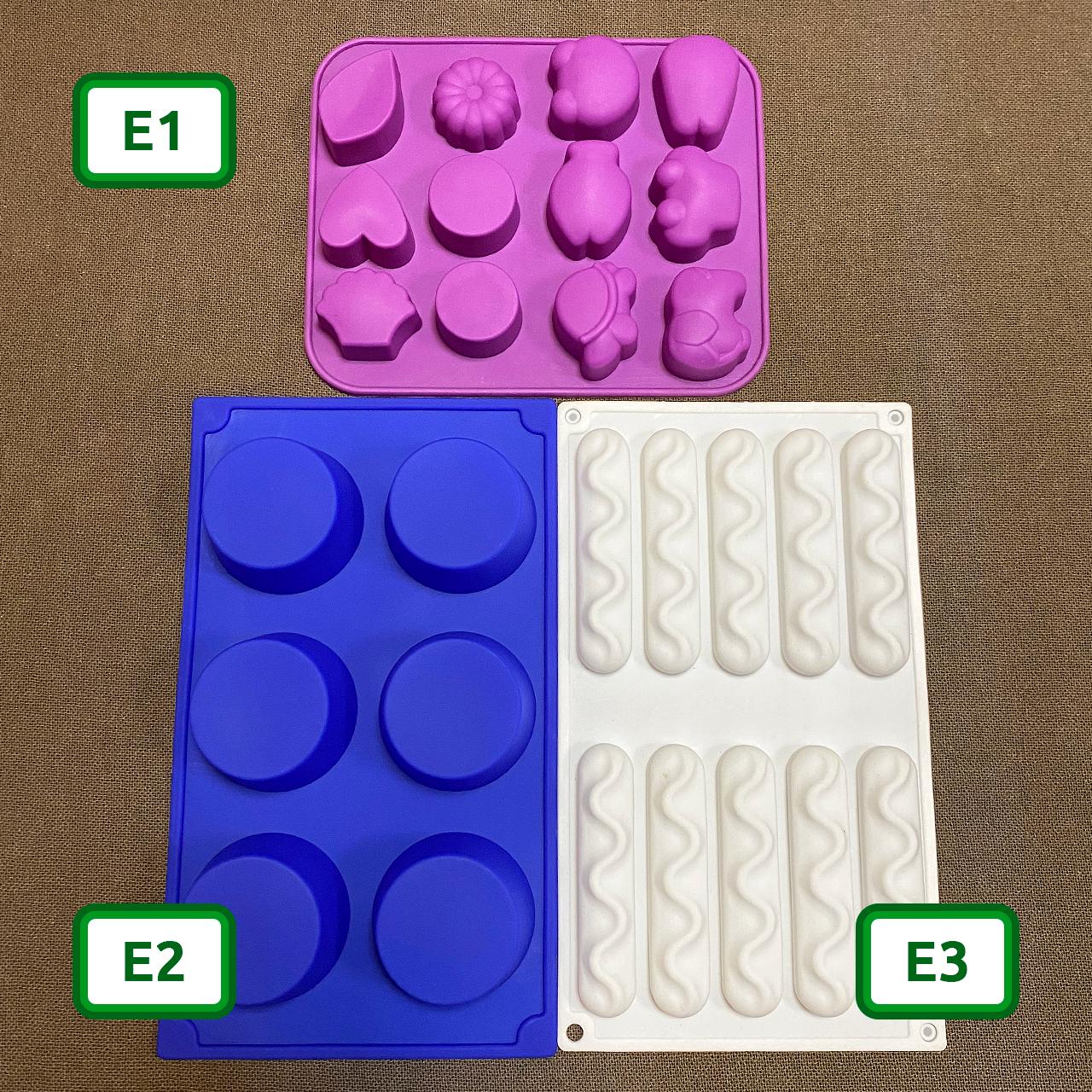 Силіконові форми для цукерок та випічки