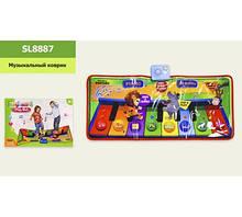 """Музыкальный коврик """"Танцевальный"""", на батарейках, размер игрушки – 81*37 см, в коробке  SL8887"""
