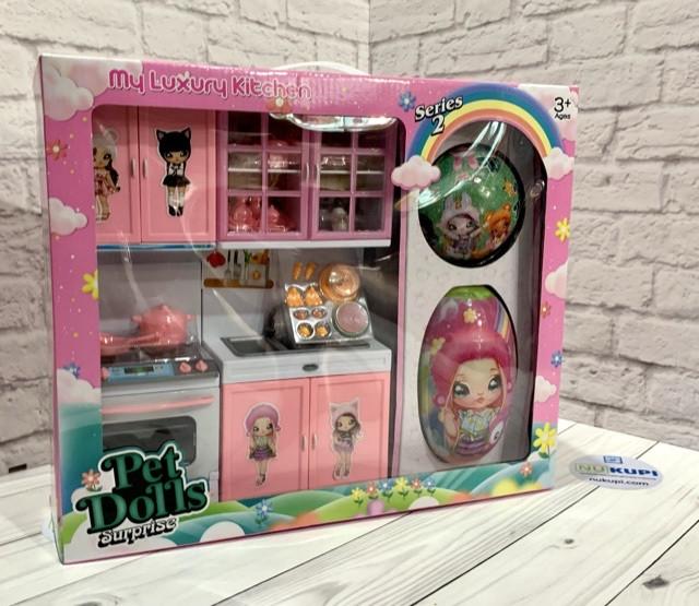 """Кухня для Барби """"Pet Dolls""""в коробке LK 1150 B"""