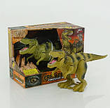 "Динозавр""Dinosaur Ages"" Тиранозавр 2 вида, ходит, двигается рот, на батарейках, в коробке WS 5316, фото 2"