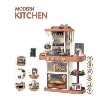 Детская кухня 43 предмета, подсветка, звук, на батарейках