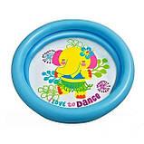 Детский надувной бассейн Intex 59409, 4 цвета, фиолетовые, 61 х 15 см, фото 5