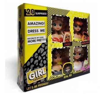 Игровой набор GIRL Fashion LK1018 для причёсок