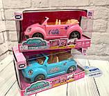 "Машинка для куклы ""Sports Car"" 2 цвета, свет, звук, в коробке ST 66-36, фото 2"