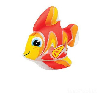 Надувная водная игрушка Intex 58590-F «Тропическая рыбка Тедди», 24 х 24 см