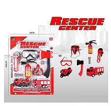 """Набір пожежника """"Rescue Center"""" на аркуші 828-5"""