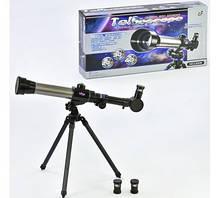 """Телескоп """"TELESCOPE"""" на треноге, 3 набора линз С 2106"""