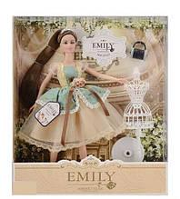 Кукла Emily с манекеном в коробке  QJ 078 C