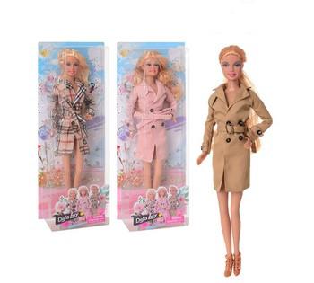 Кукла DEFA 8425-BF (24шт) 30см, 3 вида, в коробке, 33-27-6см