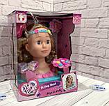 """Кукла-голова """"Yale Bella"""" манекен для причесок и макияжа YL888A-1, фото 2"""