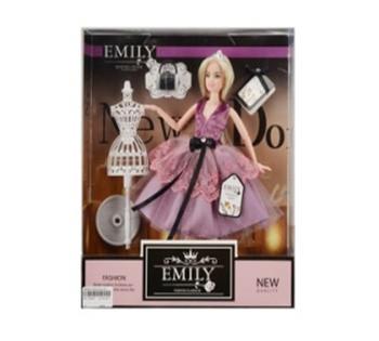 Кукла  Emily  с манекеном и аксессуарами, в коробке QJ081B
