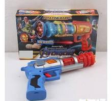 Пистолет 8180-34 В (120/2) свет, звук, в коробке