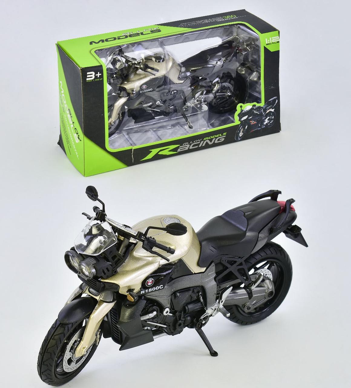 Мотоцикл Racing металлопластик, в коробке HX 792-1