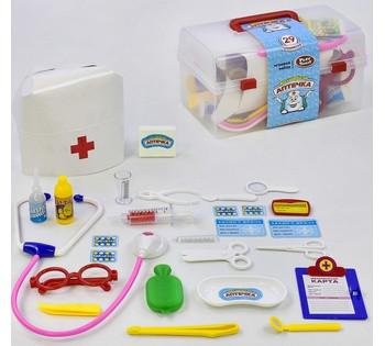 """Доктор PLAY SMART """"Волшебная аптечка"""" 29 предметов, в чемодане 2551"""