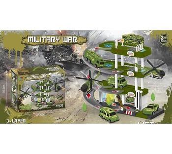 Гараж 3 A-4 *Военная база* в коробке