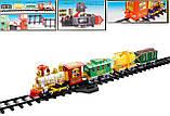 "Железная TRAIN BABY ""Classical Train"" дорога  свет, звук, дым, в коробке 2817, фото 2"