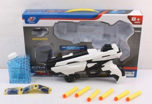 Пистолет Space Gun стреляет орбизами и патронами на присосках в коробке 588