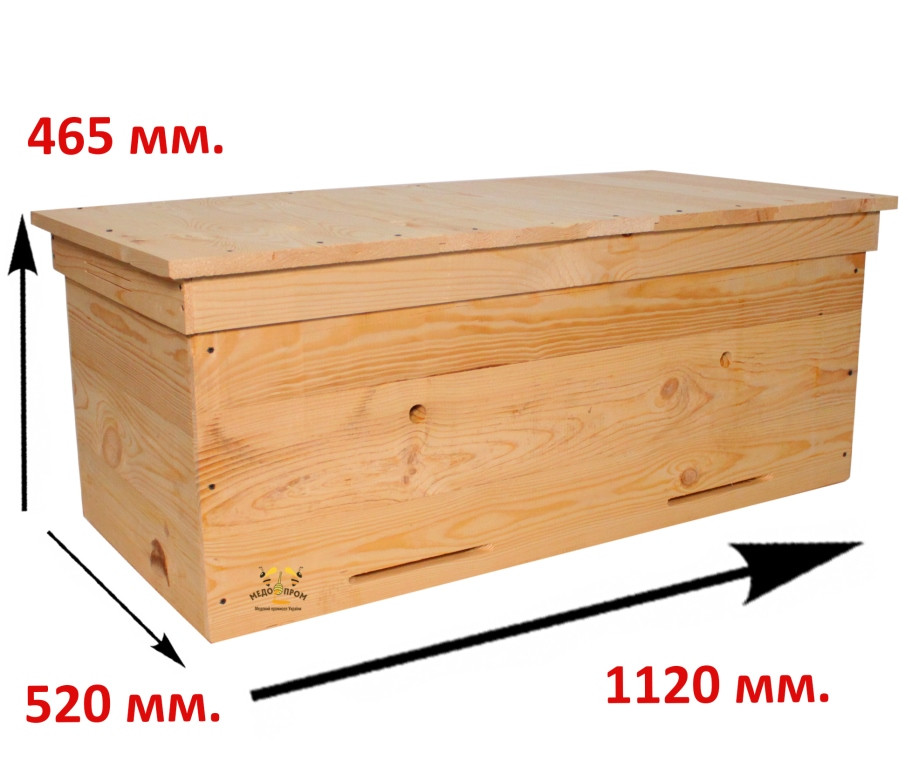 Улей лежак на 28 рамок
