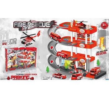 Гараж 1 A-4 *Пожарная Станция* в коробке