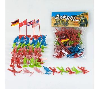 """Набор солдатиков """"Combat Force"""" в кульке 7911"""