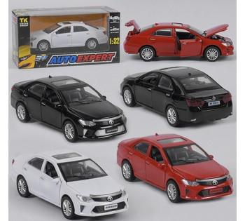 Машина метталопластик TOYOTA CAMRY  Auto Expert , 3 цвета, инерция, свет, звук, открываются двери LF - 79509