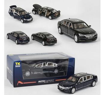 Машина металлическая  TK Group Auto Expert, 2 цвета, свет, звук, открываются двери, в коробке