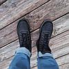 Сині чорні Чоловічі черевики євро зима демі демисезон еко шкіряні високі, фото 4