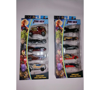 Набор машин  Avengers  307-5 A/C