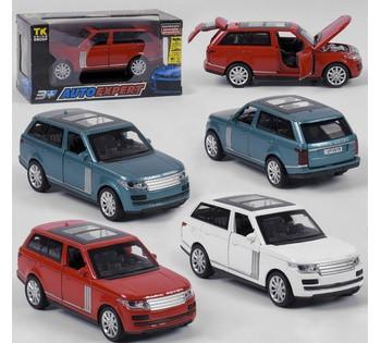 Машина металлическая Range Rover  Auto Expert , 3 вида, инерция, свет, звук, открываются двери