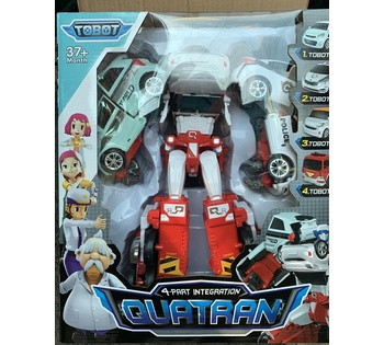 Робот Тобот Кватран *QUATRAN* 4 в 1 509