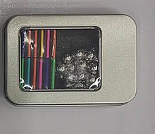 Конструктор магнитный анти-стресс Неокуб Neo Cube разноцветный, неодимовый магнит, в коробке M 43274