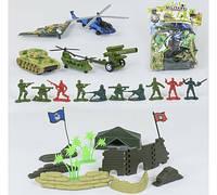 Военный игровой набор 8633 А (84/2) 2 вида, в кульке