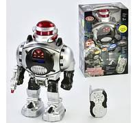 Робот 9184 р/у, звук, свет, стреляет дисками, в коробке