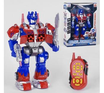 Робот Tower Transformer свет, звук, 12 функций
