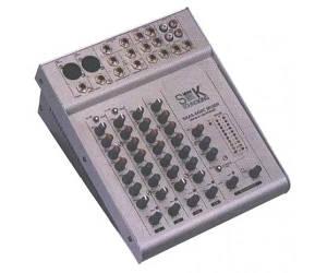 Микшерный пульт с усилителем Soundking AS602AC 2+2 2х50 Вт