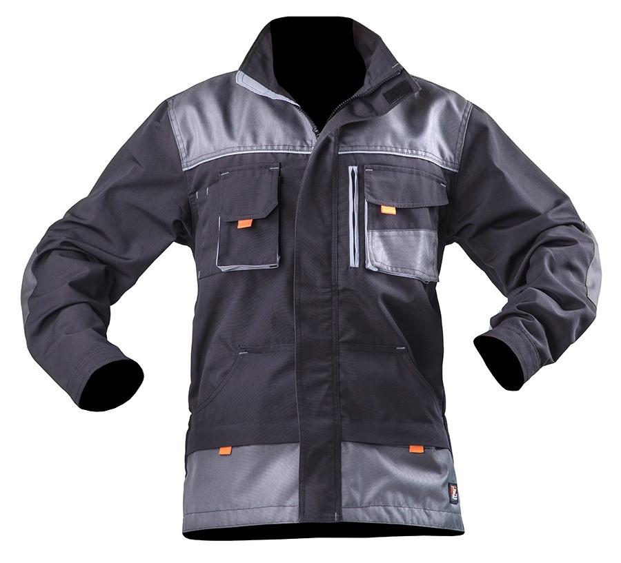 Куртка робоча SteelUZ. Сіра. Сірі вставки XL