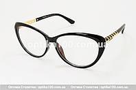 Большая женская черная оправа для очков в стиле Chanel. Имиджевые очки, фото 1