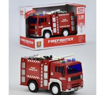 Пожарная машина музыкальная, светящаяся