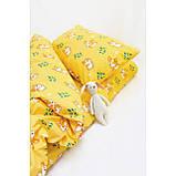 Комплект постельного белья детский ранфорс 20122 желтый ТМ Вилюта, фото 2
