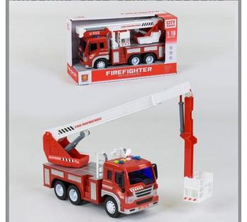 Спецтехника  Пожарная машина  инерция