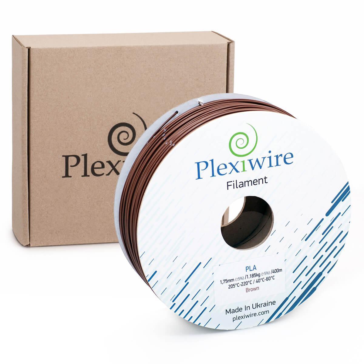 PLA пластик для 3D принтера 1.75 мм Коричневий (400 м / 1.185 кг)