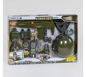 Военный набор 34340  трещотка, звуковые и световые эффекты, в коробке