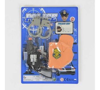 Полицейский набор 137-08 (192/2) на листе