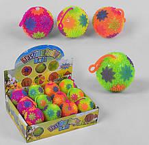 Мяч-прыгун Flashing Spiky Ball свет пищалка