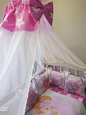 Комплект в детскую кроватку Косичка 003, фото 2