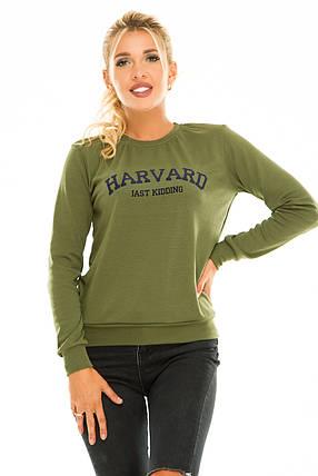 Свитшот HARVARD хаки 42-44, фото 2