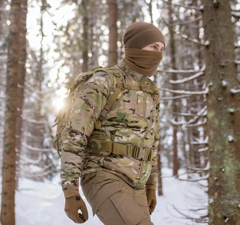 Оригинал Зимняя тактическая куртка Helikon-Tex WOLFHOUND JACKET (CLIMASHIELD®APEX 67G) KU-WLF-NL X-Large,