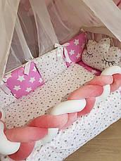 Комплект в детскую кроватку Косичка 004, фото 3