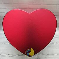 Коробка сердце L 24 x 22 x 12 см
