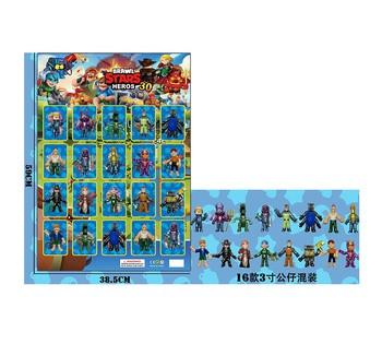 "Brawl Stars ""Бравл Старс"" Фигурки Персонажей 20 героев на планшетке LDY42163"
